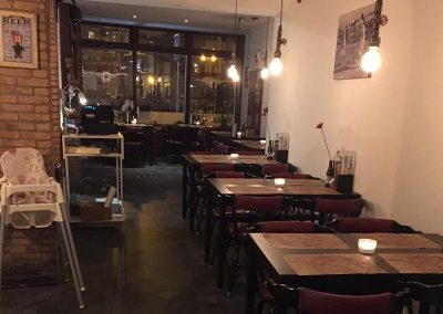 Interieur voor Joe's Burger & Steakhouse Restaurant in Leiden